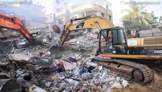 Israel Gaza conflict: Hamas leader's house bombed