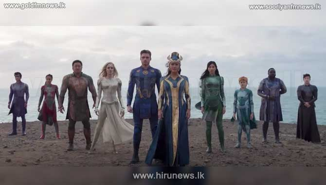 Marvel's Eternals trailer has finally arrived