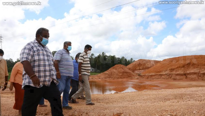 Construction of Central Expressway in Gampaha temporarily suspended