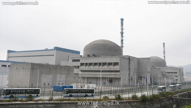 US assessing a report of a leak at a Chinese nuclear power plant