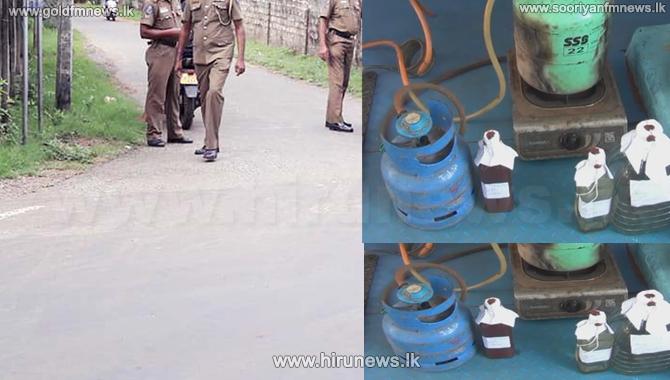 Former UNP Provincial Councillor arrested for an illicit liquor racket (Video)
