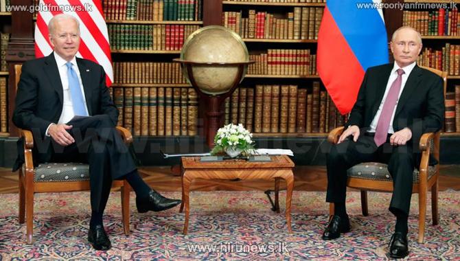 Biden and Putin praise Geneva summit talks