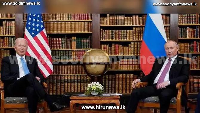 இருநாட்டு உறவுகளையும் பலப்படுத்திக் கொண்ட அமெரிக்கா - ரஷ்யா தலைவர்கள்