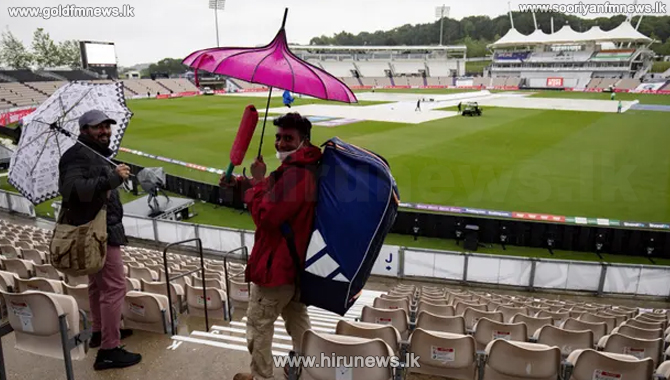 World Test Championship disrupted by rain