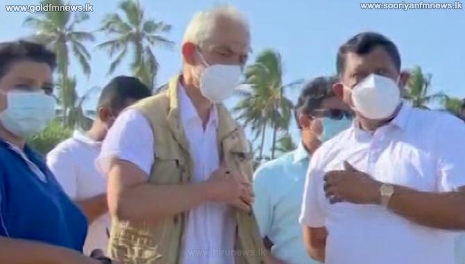 தீக்கிரையான எக்ஸ்ப்ரஸ் பேர்ல் கப்பலால் சுற்றாடலுக்கு கணிசமான சேதம் ஏற்பட்டுள்ளது - ஐ.நா