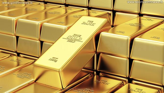 Decrease in world gold prices