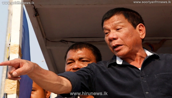 """""""You can choose: you get the vaccine or I will send you to jail,"""" - Philippine President Rodrigo Duterte"""