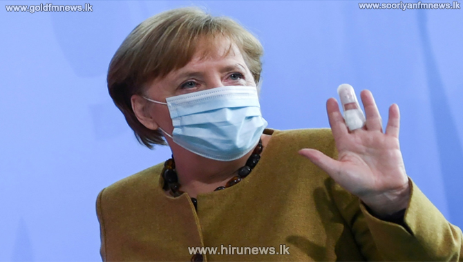 German Chancellor gets Moderna as second jab after AstraZeneca first dose