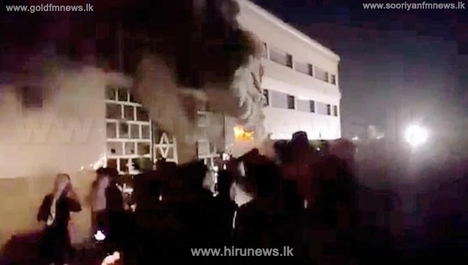 ஈராக் வைத்தியசாலையில் ஏற்பட்ட தீ விபத்தில் 60க்கும் மேற்பட்டோர் பலி!