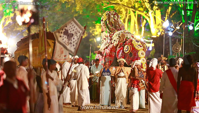 The annual Esala Perahera concludes successfully