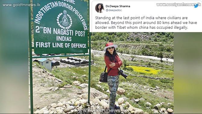 34 yr old Dr Deepa Sharma tweets