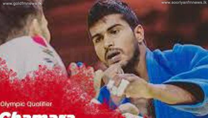 Chamara Dharmawardena defeated in Olympic judo event