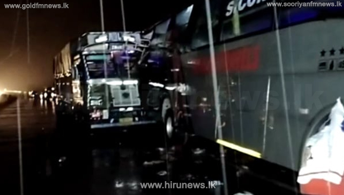 18 people sleeping in front of a bus they had been travelling crushed to death in India