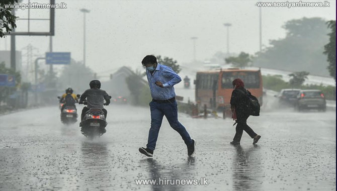 Showers and strong winds expected in several areas