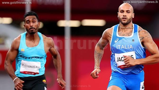 ஆண்களுக்கான 100 மீற்றர் முதல்சுற்று ஓட்டப் போட்டியில் யுப்புன் அபேகோன் 6ஆம் இடம்!