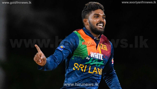 Wanidu Hasaranga moves in closer to the number one ranking in T20s