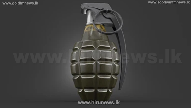 Hand+grenade+found+at+a+private+hospital+in+Narahenpita