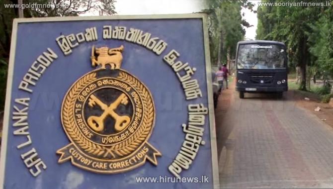 ඇමති නාමල් අනුරාධපුර බන්ධනාගාරයේ LTTE රැඳවියන් හමුවීමට යයි ?