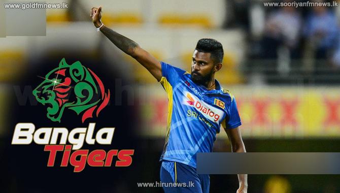 Isuru Udana retained by Banglore Tigers