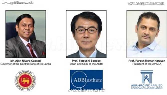 CBSL co-hosts the CBSL-ADBI-APAEA online macroeconomics conference