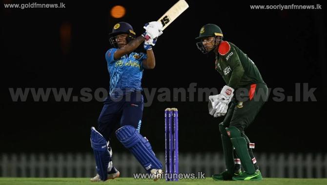 T20 உலகக் கிண்ணத் தொடருக்கான பயிற்சிப் போட்டி: இலங்கை அணி 4 விக்கெட்டுக்களால் வெற்றி