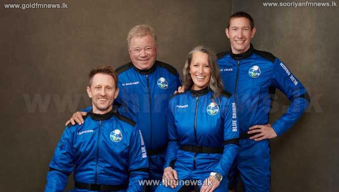 William+Shatner+of+%22Star+Trek%22+into+space+