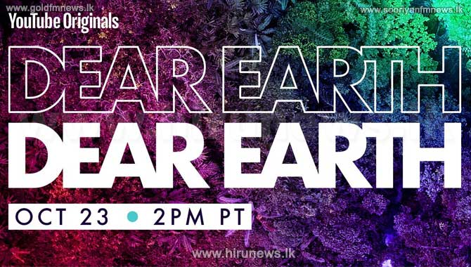 'Dear Earth' YouTube Originals Trailer