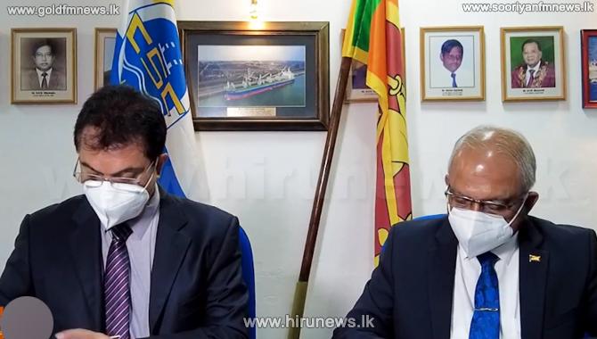 MoU signed between Ceylon Shipping Corporation & Sail Lanka (Video)