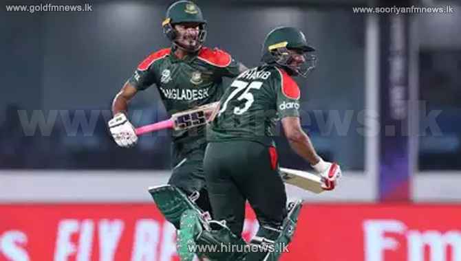 T20: Bangladesh beat PNG to qualify for the super 12 round