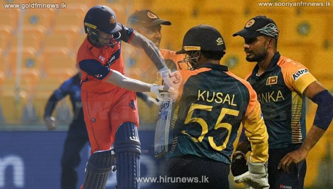 T20 World Cup -  SL vs NED: Third match of first round