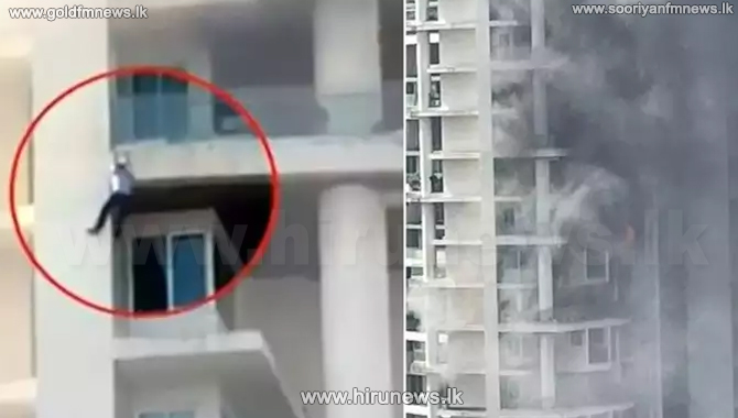 Fire breaks out at a luxury apartment complex in Mumbai