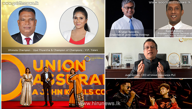 Union Assurance Celebrates the Success of 2020 with a Glittering Virtual Annual Awards