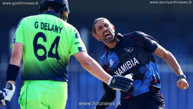 T20 World Cup: Namibia go through as Ireland knocked out