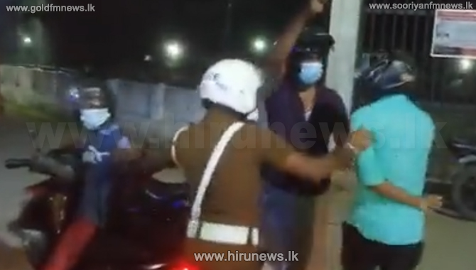 Eravur Police traffic division officer released on bail