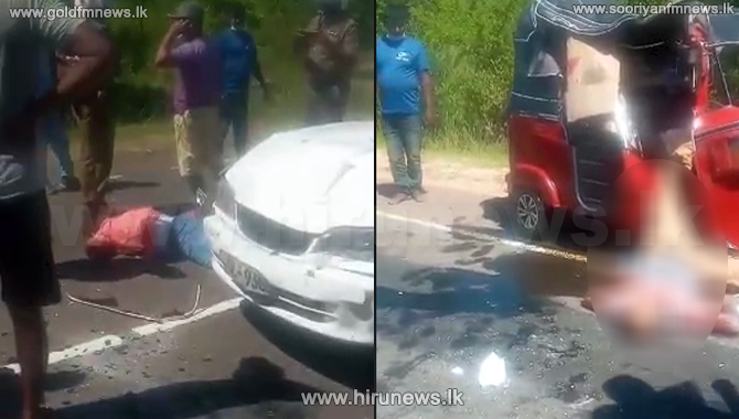 Tragic accident takes two lives in Habarana
