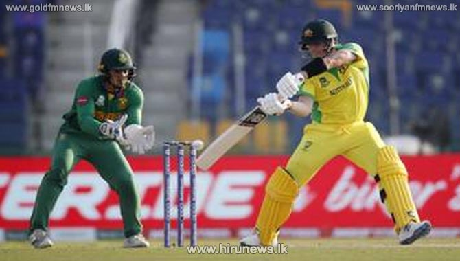 Australia defeat South Africa by 5 wickets in the Super 12 first match