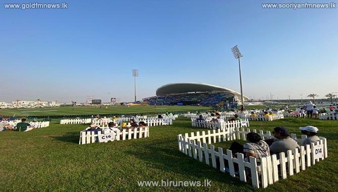 Spectators witness match at Abu Dhabi stadium from