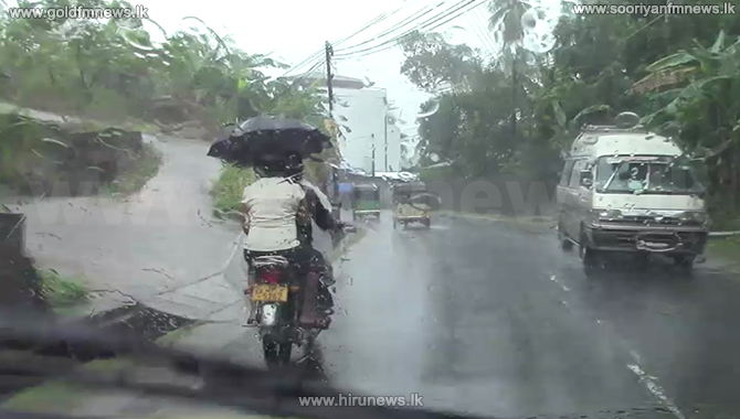 Showers or thundershowers expected at several places