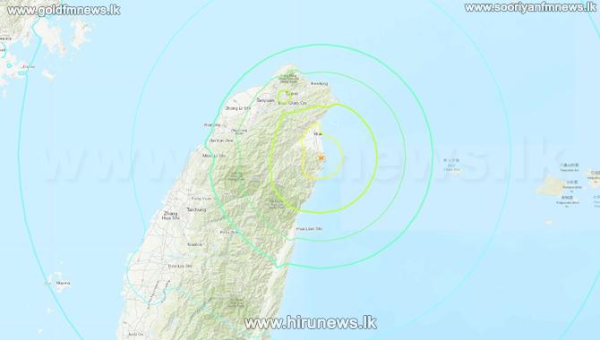 A 6.5-magnitude quake strikes Taiwan