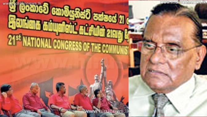 இலங்கை கம்யூனிஸ்ட் கட்சியின் தவிசாளர் ராஜா கொல்லுரே பதவி நீக்கம்