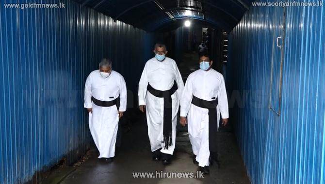 Three other priests arrive at CID on behalf of Rev. Fr. Cyril Gamini