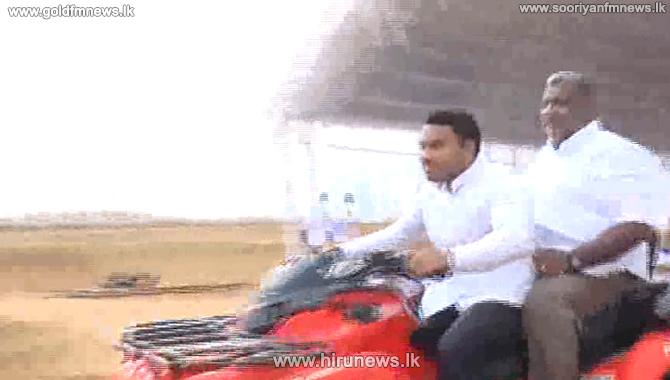 Colombo Dunes declared in Port City declared open (Video)